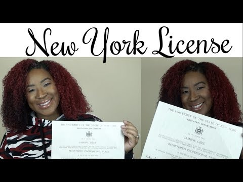 Getting My New York RN License| The Process