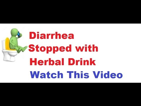 How To Stop Diarrhea With One Drink