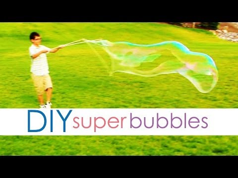 DIY Super Bubbles | Learn to Make Homemade Bubble Solution Now!