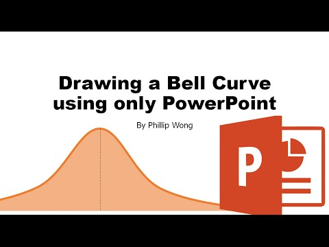 How to Draw a Bell Curve in Powerpoint