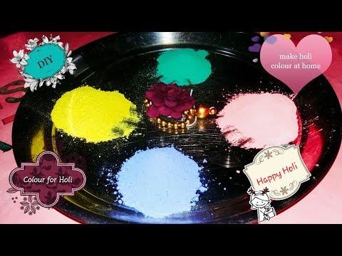 Diy Holi Color