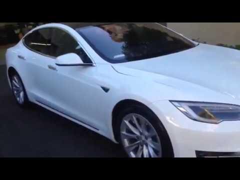 Sound system for 2016 Tesla s 60 by Al&eds autosound Ontario California