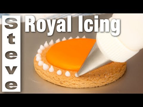 ROYAL ICING - EGG FREE  - No Mixer Required