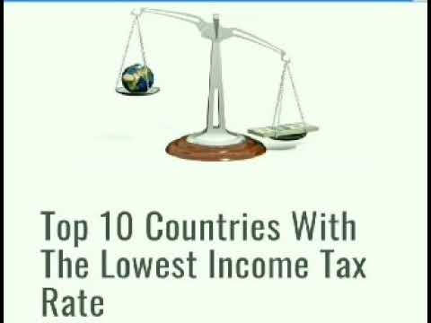 Top 10 Countries with the Lowest Income Tax Rate