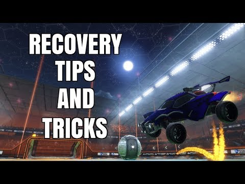 Rocket League Tutorial | Recovery Tips And Tricks (Important Mechanics) | Controller Overlay