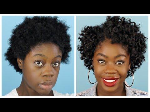 The PERFECT Flat Twist Out   Short & Shrunken 4C Hair