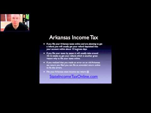 State of Arkansas Income Tax
