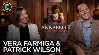 Annabelle Comes Home: Vera Farmiga & Patrick Wilson Interview