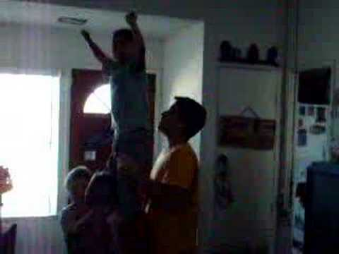 Teaching how to stunt