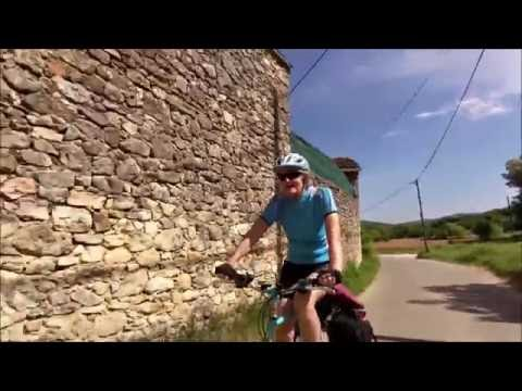 Cycling around Le Luberon, Provence, France in May 2016