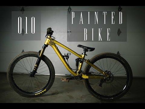010 Painted Bike  - No Bad Days Vlog