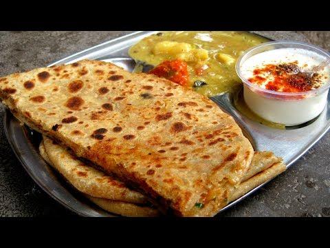 आलू का पराठा बनाने की विधि   Aloo Paratha Recipe in Hindi   Dhaba Style Punjabi Aloo Paratha