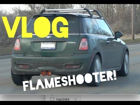 Turbo MINI Shoots FLAMES!! MINI Vlog Begins!