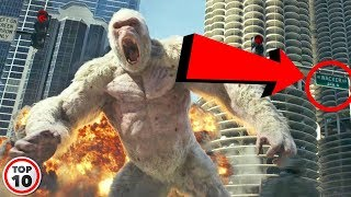 Top 10 Easter Eggs You Missed In Rampage