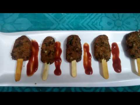 वेज लॉलीपॉप /vegetable lollipop  recipe for kids   in (HINDI /URDU ) by  uzma hussain