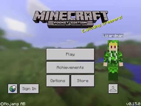 How to make a refrigerator in Minecraft PE 0.15.0