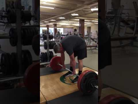 1Year 7 Months Post THR -Traditional Deadlift 255x5