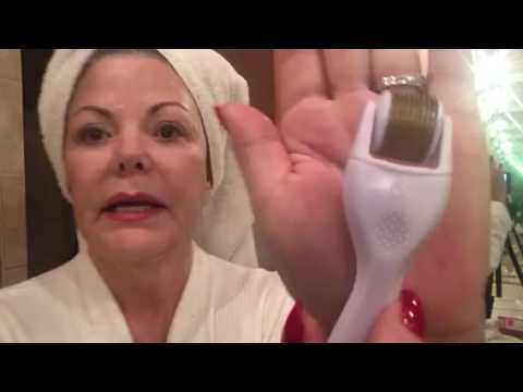 Face Derma Roller and Deep Clean