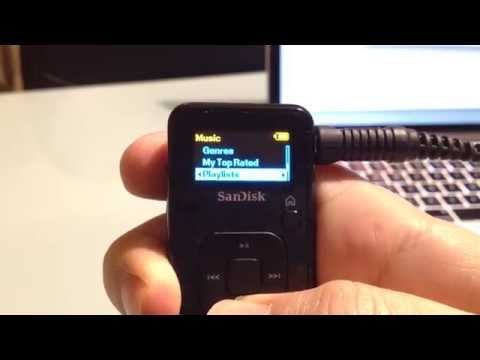 Transfer iTunes playlists to SanDisk Sansa Clip MP3 Player (Mac)