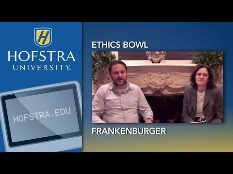 Ethics Bowl: Frankenburger