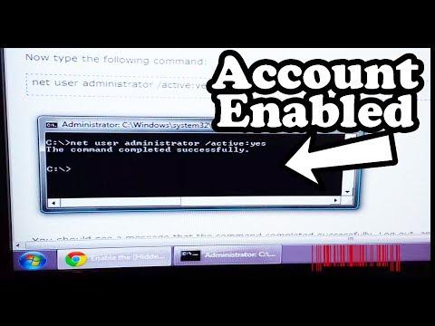 Enable Administrator Account - Windows 7 / Windows 8 - Easy Way