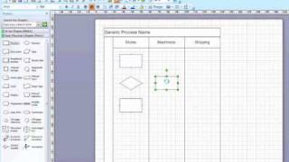 Creating Cross Functional Flow Chart In Visio 2007