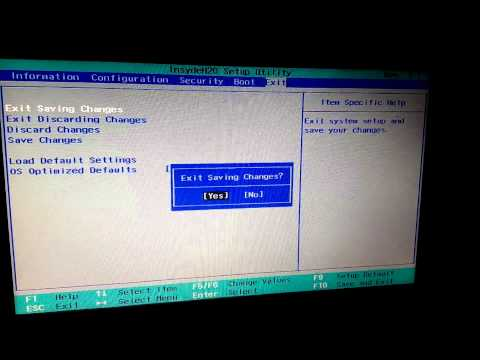 Lenovo g500 usb boot  dos problem