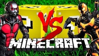 Minecraft: DIRTY LUCKY BLOCK CHALLENGE | Ant-Man VS Ant-Man