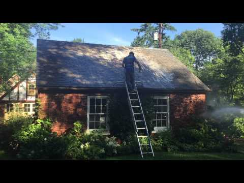 Lancaster Pennsylvania Slate Roof Cleaning