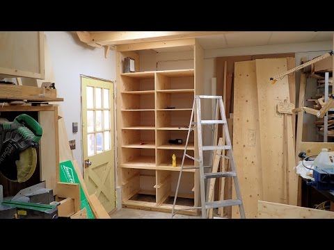 Making A Deep Shop Cabinet With Drawers, Part 2