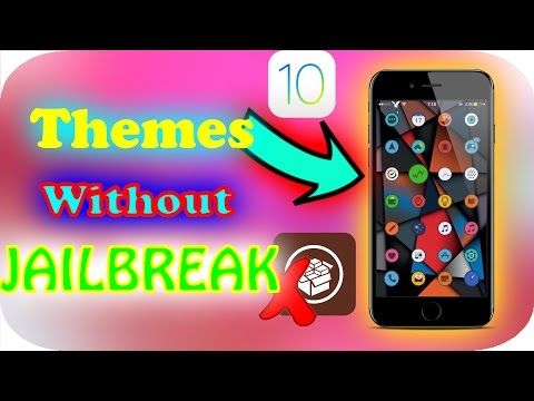Get THEMES Onto IOS 10 WITHOUT JAILBREAK or COMPUTER - Theme Your IPhone Like Never Before