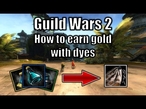 Guild Wars 2 gold guide: How to earn gold with dyes (September 2016)