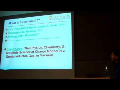 SURE Clemson 2013 Dr. Harrell Session 1, part 1