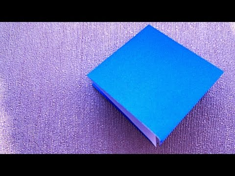 How to make a Origami square Base?  Origami for kids