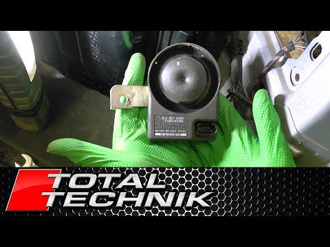 How to Remove Alarm Horn Siren (AVANT) - Audi A6 S6 RS6 - C5 - 1997-2005 - TOTAL TECHNIK