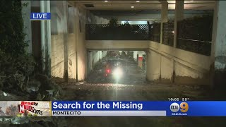 As Many As 43 Feared Missing In Montecito Mudslides
