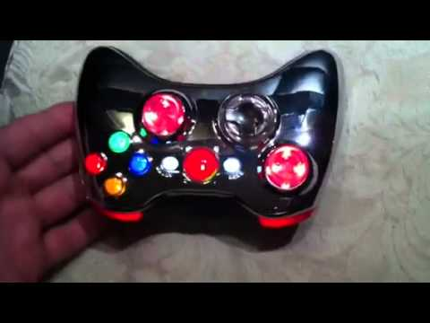 Chrome Rapid Fire Modded XBOX 360 controller