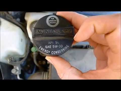 2005 Toyota Prius oil change and maintenance light reset step by step