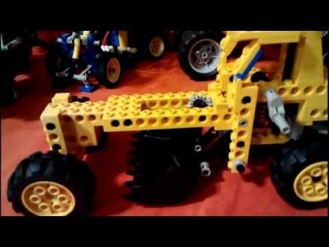 Lego Technic snow plow 8828 model B