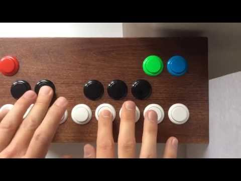 Make a custom MIDI controller with arcade buttons