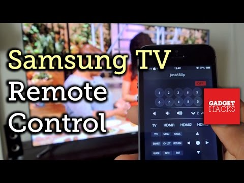 Control Your Samsung Smart TV with an iPhone [How-To]