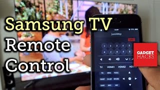 Control Your Samsung Smart Tv With An Iphone How To