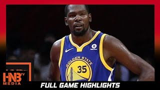 Kevin Durant (27 pts, 3 ast) Full Highlights vs Sixers / Week 5 / Warriors vs 76ers