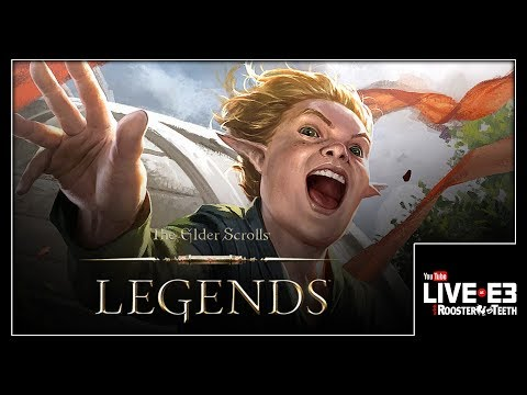 Annoy Your Opponent TO DEATH in Elder Scrolls Legends - YouTube Live at E3