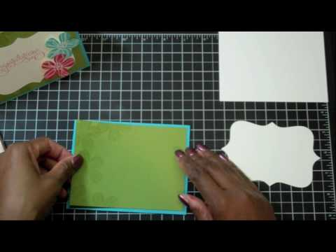 Episode 5 - Stampin' Up! Congratulations Card