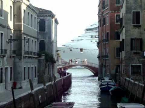 Venice Canal & Cruise Ships