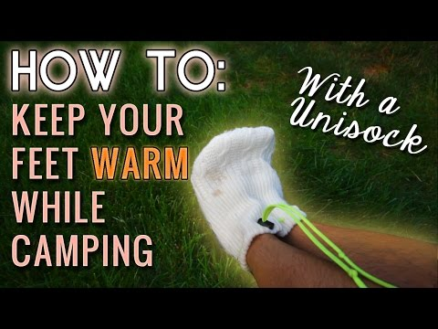 How To: The Best Home-made Gear to Keep your Feet Warm While Camping