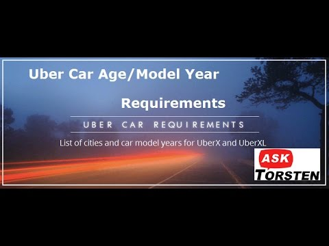 Will your car make the cut? Uber Car-age and model-year requirements per city. Find out here.