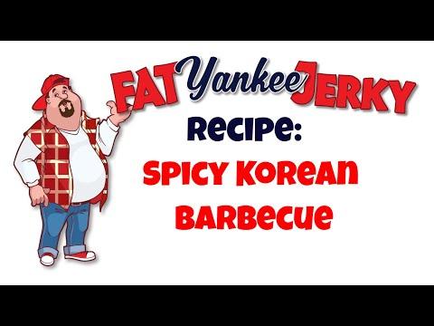Fat Yankee Beef Jerky Recipe Spicy Korean Barbecue