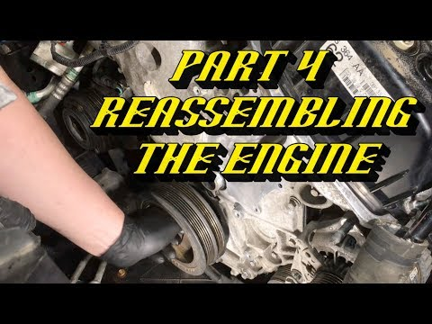 Ford F-150 3.5L Ecoboost Timing Set Replacement Part 4 : Reassembling the Engine